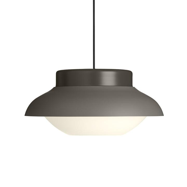 Collar 420 pendant lamp, soft taupe matt by Gubi
