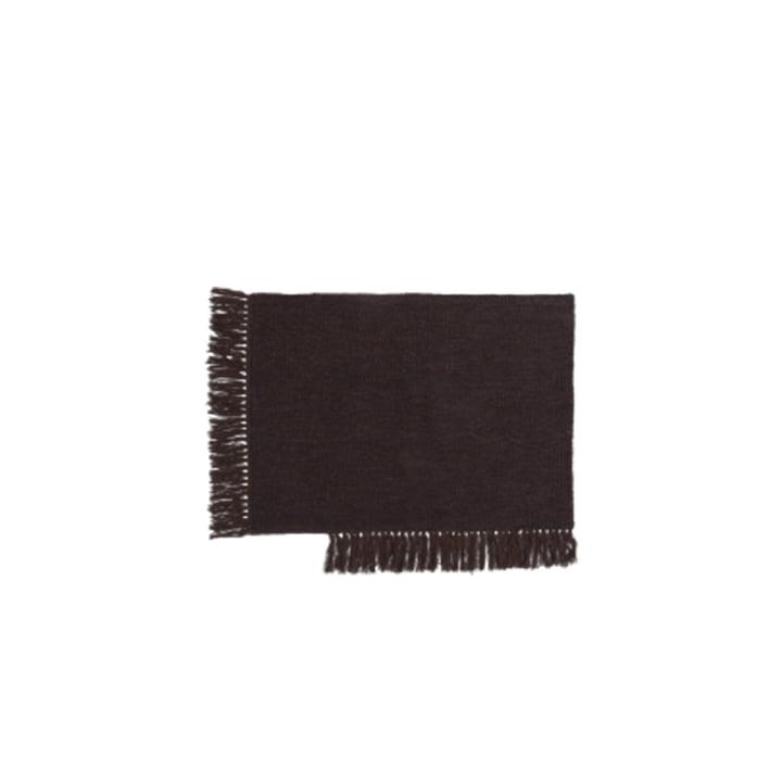 The Kelim doormat from ferm Living in dark melange, 50 x 70 cm