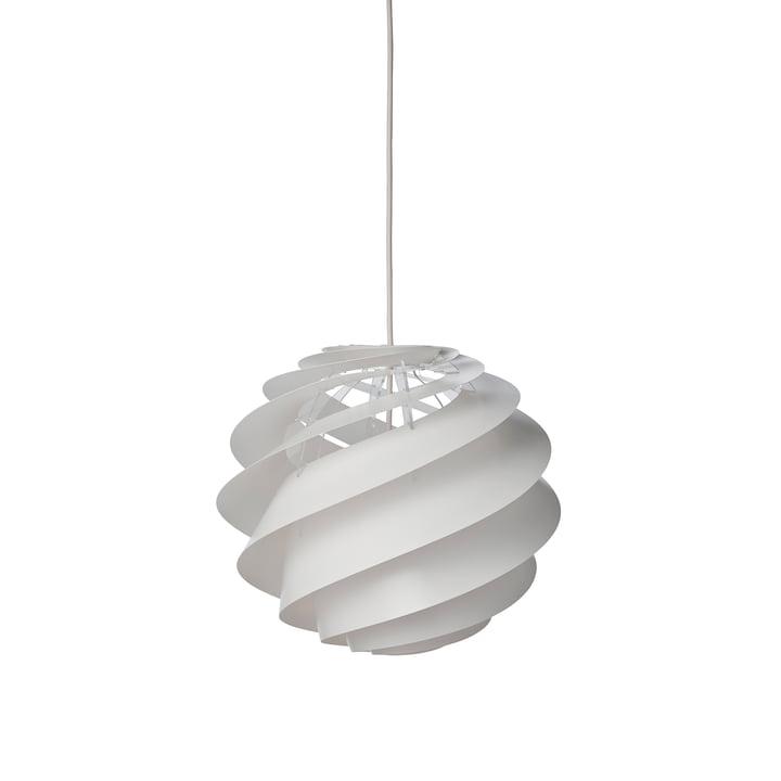 Swirl 2 pendant lamp Ø 32 cm from Le Klint in white