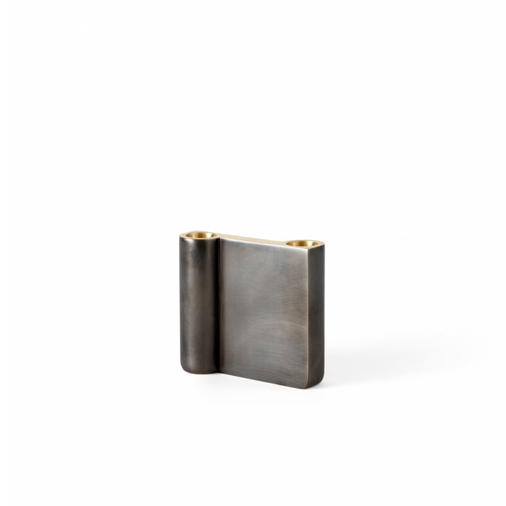 The small Collect candleholder from & Tradition, bronzed brass