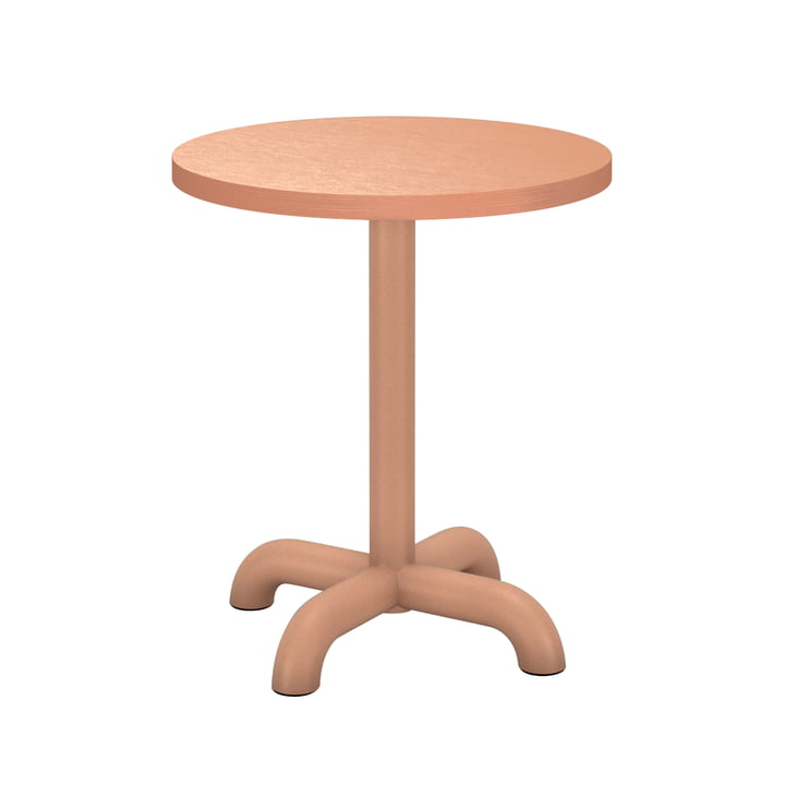 The Unify side table from Petite Friture , Ø 40 cm, blush