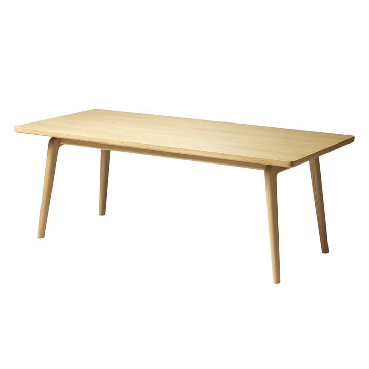 The D104 coffee table from FDB Møbler in natural oak