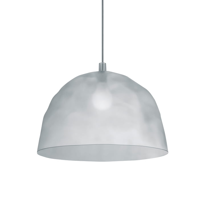 The Bump pendant light from Foscarini in frost