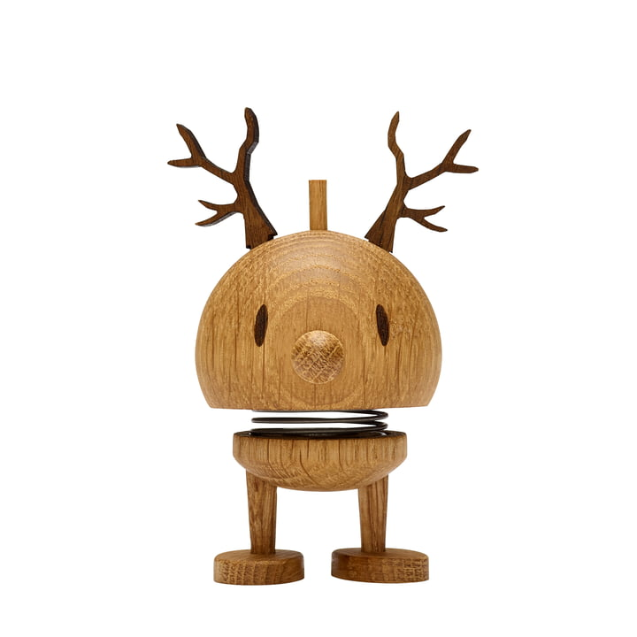 Small Reindeer Bumble, oak from Hoptimist
