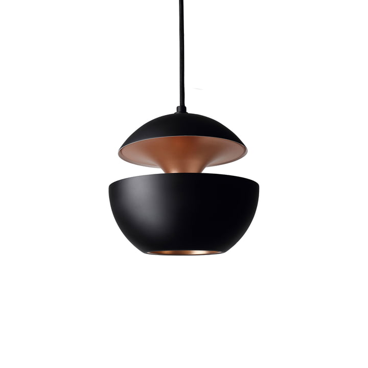 Here Comes The Sun 175 Pendant Lamp, black / copper from DCW
