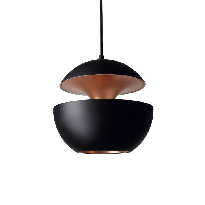 Here Comes The Sun 250 Pendant Lamp, black / copper from DCW