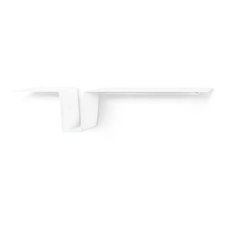 The DOV wall shelf from vonbox in white