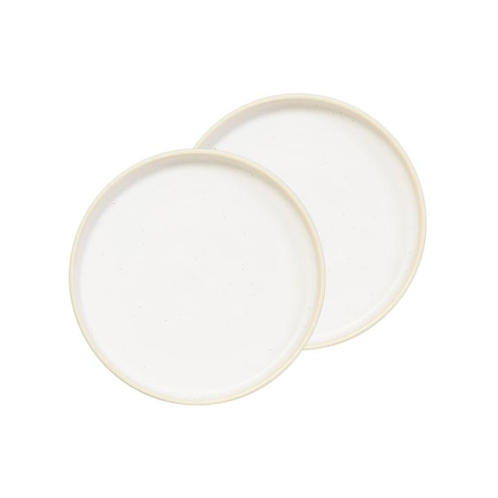Frama - Otto Plate S, Ø 19 cm, white (set of 2)