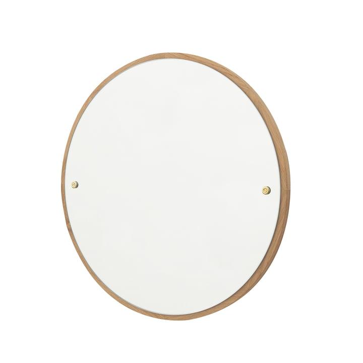 CM-1 Circle Wall mirror Ø 45 cm, oak oiled by Frama