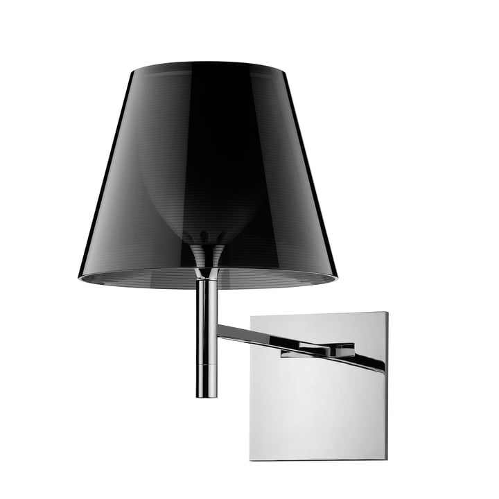 The K Tribe wall light from Flos in fumée