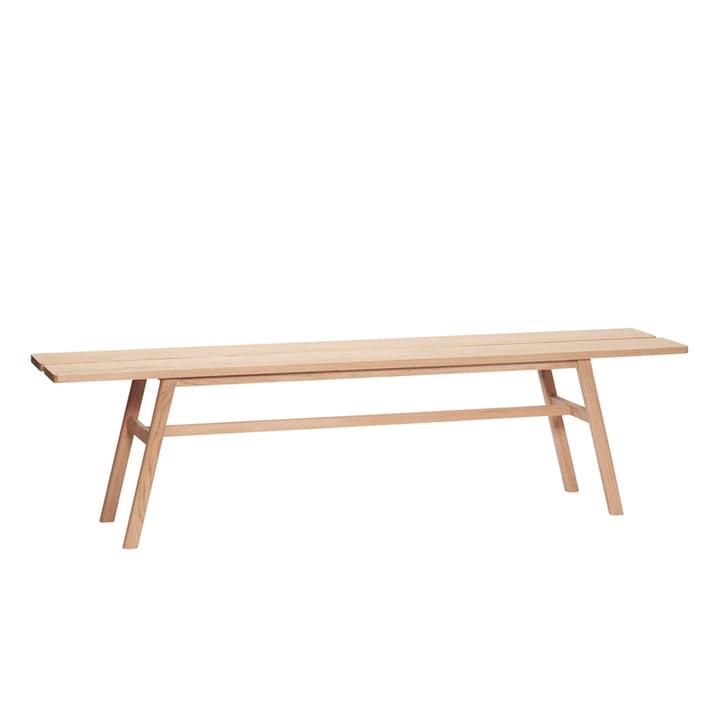 Oak bench from Hübsch Interior