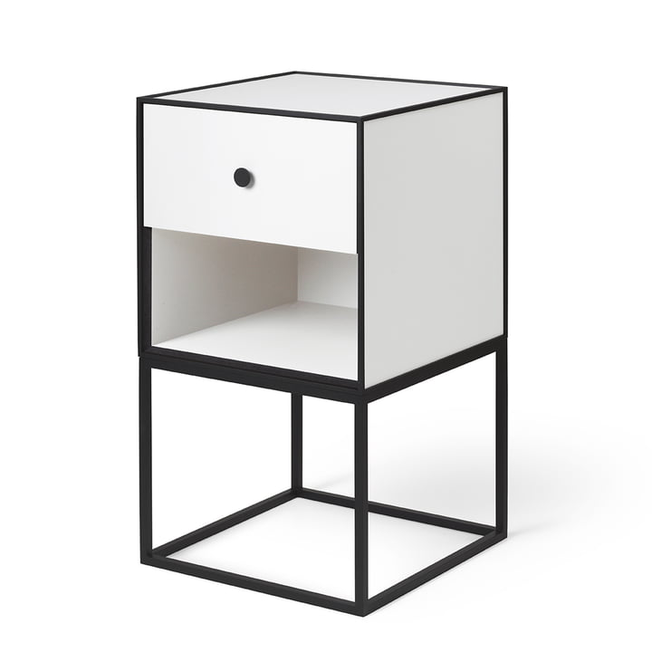 Frame Sideboard 35 (incl. drawer), white from by Lassen