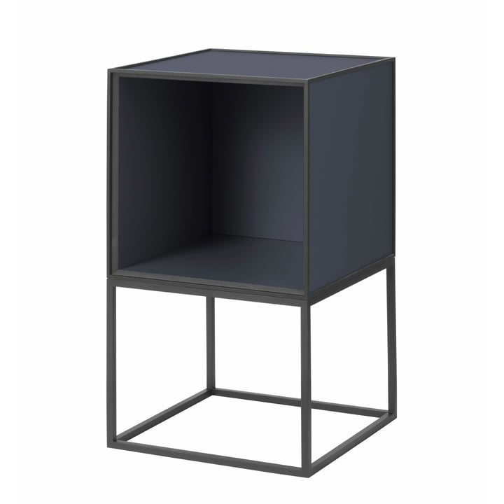 Frame Sideboard 35, dark blue from by Lassen