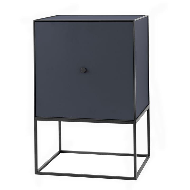 Frame Sideboard 49 (incl. door & shelf), dark blue from by Lassen