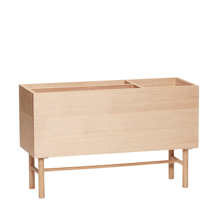 The magazine collector from Hübsch Interior in natural oak