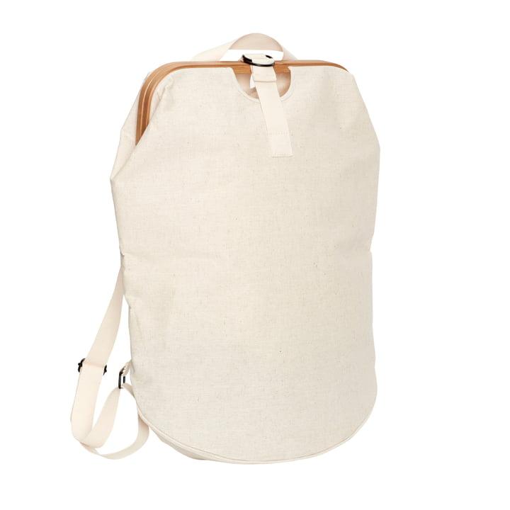 Laundry bag, beige / nature from Hübsch Interior