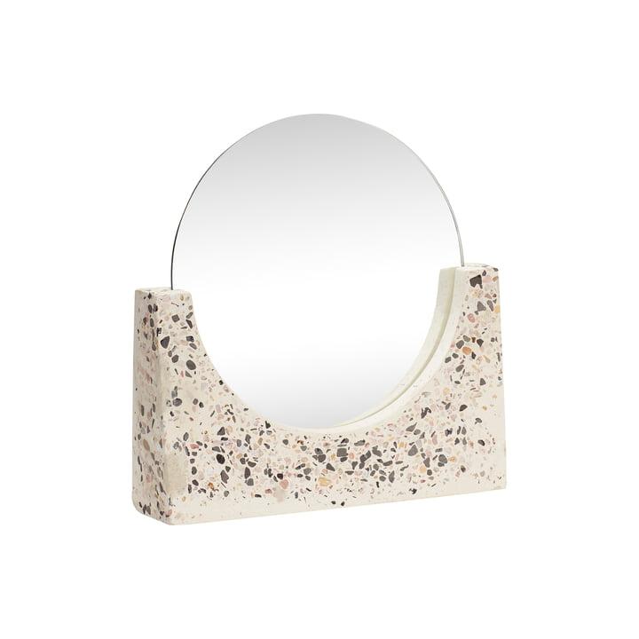 Terrazzo table mirror, small from Hübsch Interior