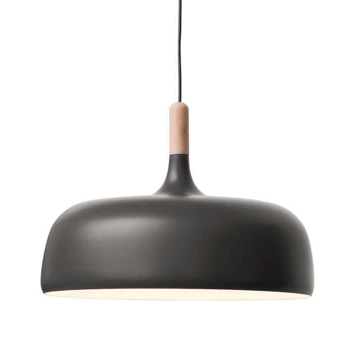 The Acorn Pendant Lamp by Northern in grey