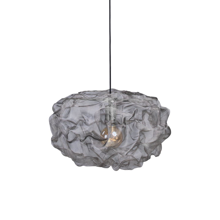 Heat Mesh pendant light, small / stainless steel by Northern