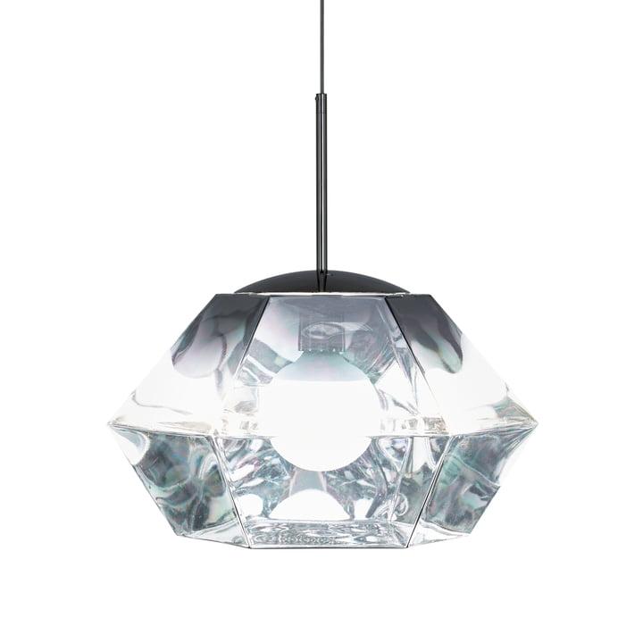 Cut Pendant Lamp by Tom Dixon in Short / Chrome