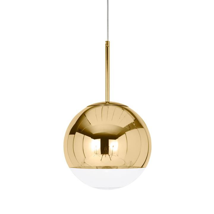 Mini Mirror Ball Gold Pendant lamp Ø 25 cm from Tom Dixon