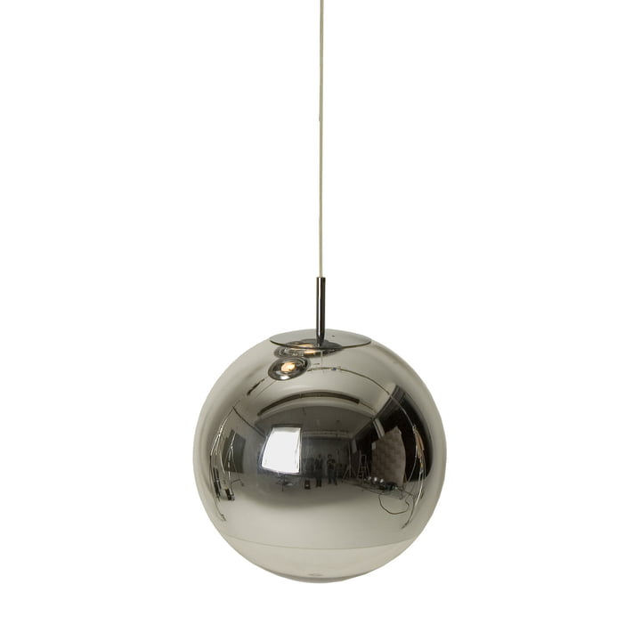Mini Mirror Ball Chrome pendant lamp from Tom Dixon
