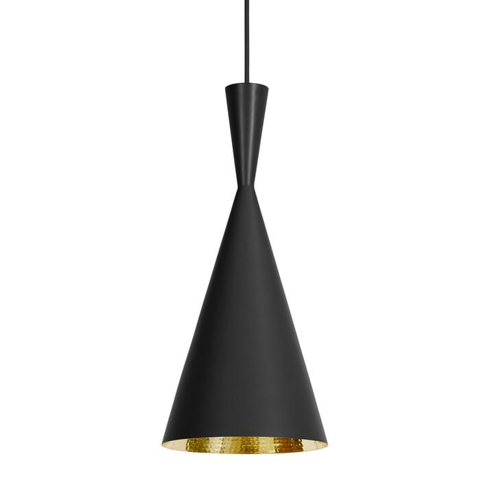 Tom Dixon - Beat Light Tall pendant lamp in black