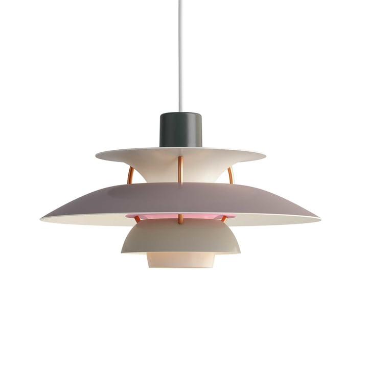 The Louis Poulsen - PH 5 Mini Pendant Lamp in Grey