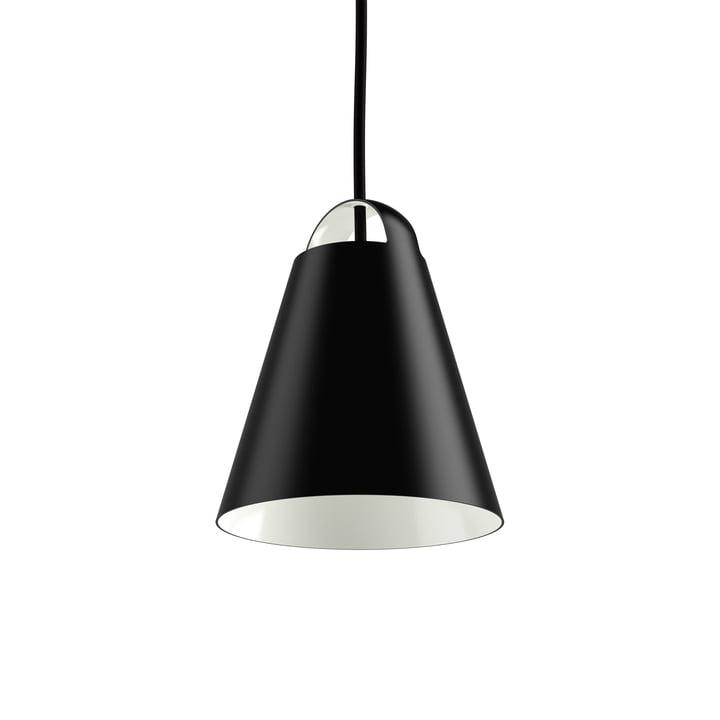 Above Pendant Lamp Ø 17.5 cm by Louis Poulsen in Black