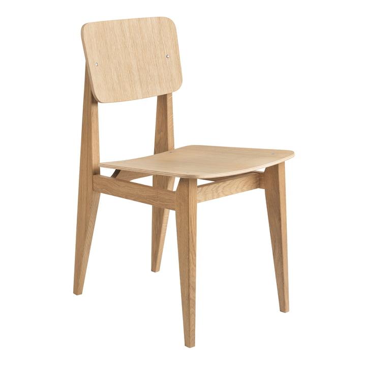 C-Chair Dining Chair Veneer, Oak oiled by Gubi