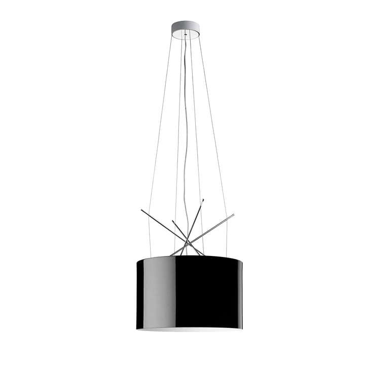 The Ray pendant light from Flos in black