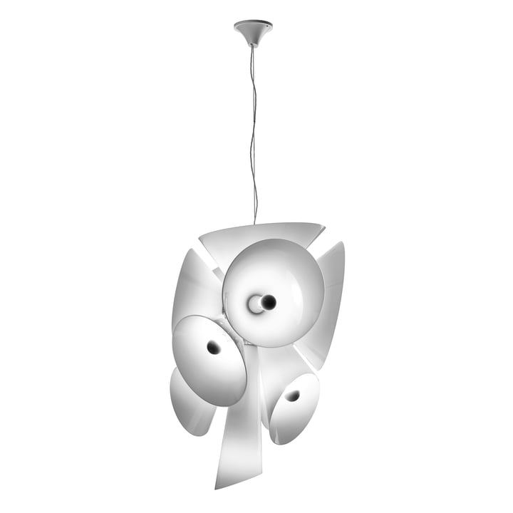 The Nebula pendant light from Flos in white