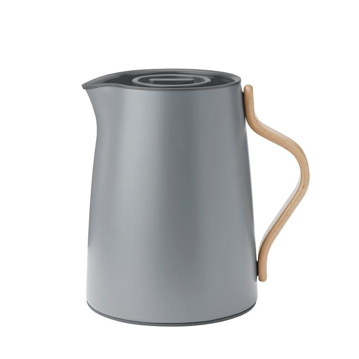 Emma tea thermos 1 l from Stelton in matt grey