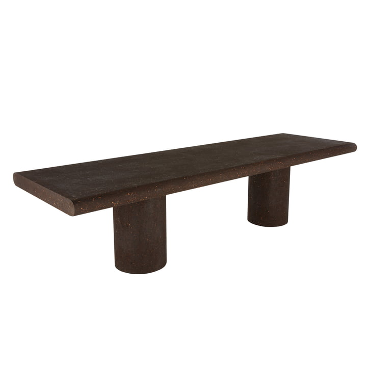 Cork Dining table 3000 95 x 300 cm, brown from Tom Dixon