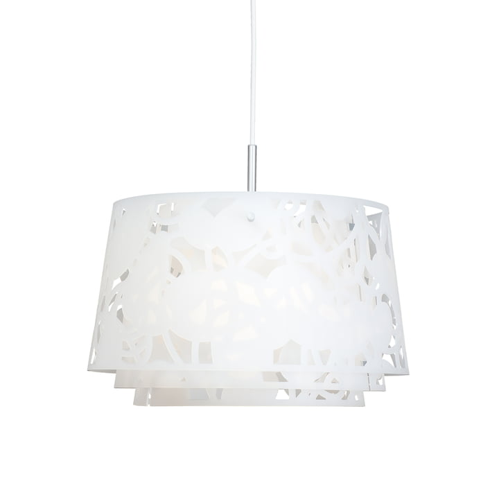 Collage 450 pendant lamp by Louis Poulsen in white matt