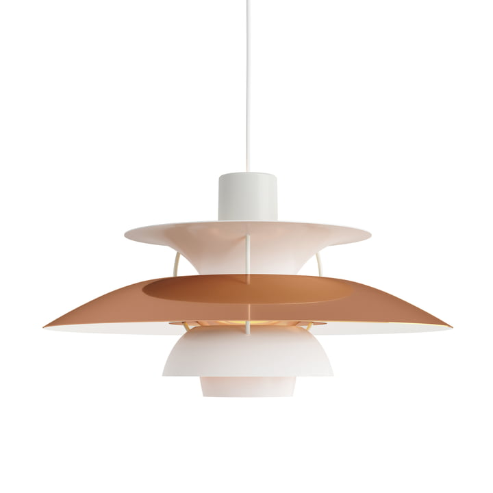 PH 5 pendant lamp, copper (anniversary edition 2018) by Louis Poulsen
