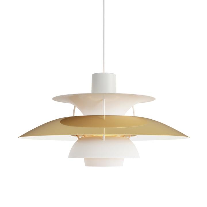 PH 5 pendant lamp by Louis Poulsen in brass