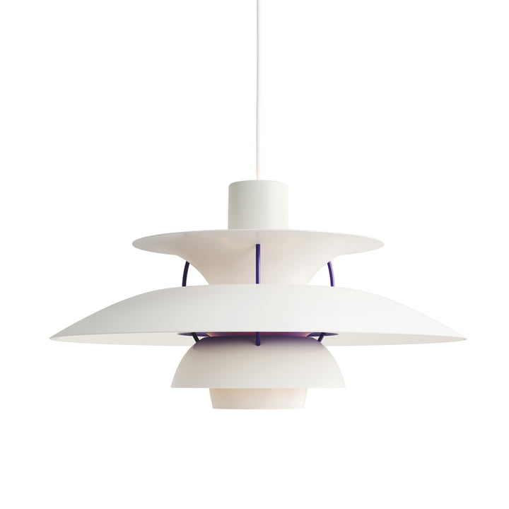 The Louis Poulsen - PH 5 pendant lamp in white classic