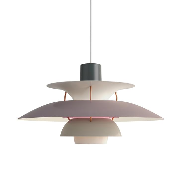 The Louis Poulsen - PH 5 pendant lamp in hues of gray
