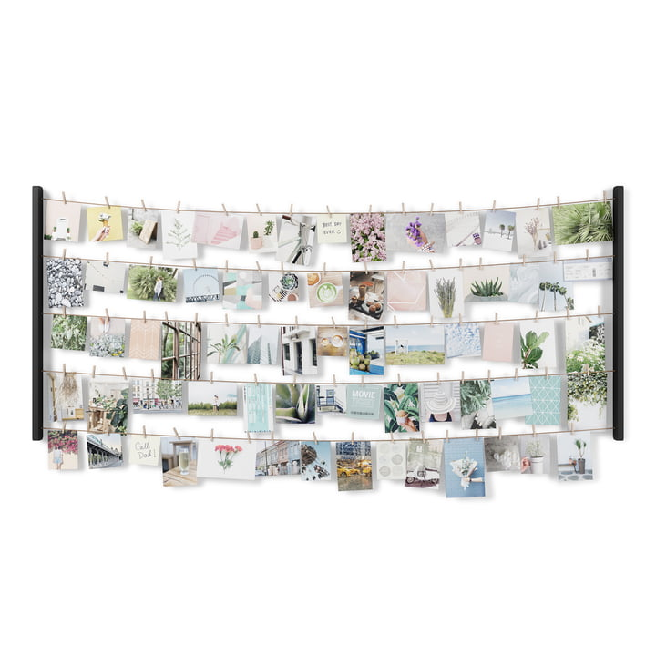 The Hangit photo wall from Umbra in large, black
