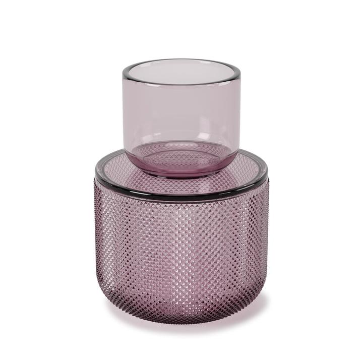 The Allira glass organizer from Umbra to medium / purple