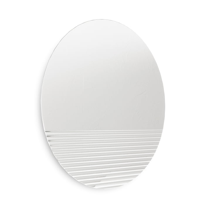 The Ridge wall mirror from Umbra , Ø 61 cm, clear