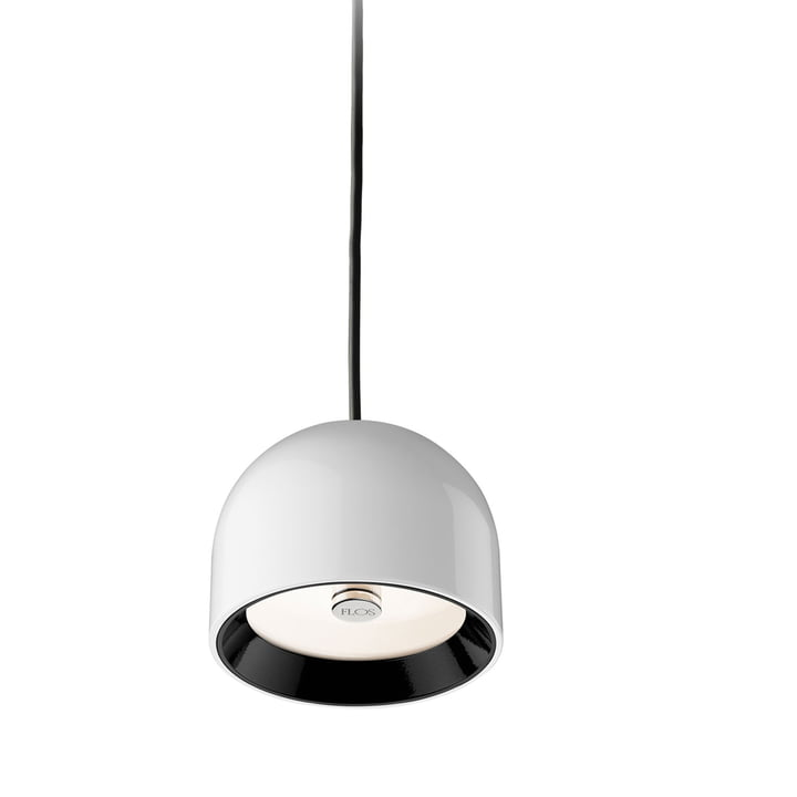 The Wan S Pendant luminaire from Flos in white