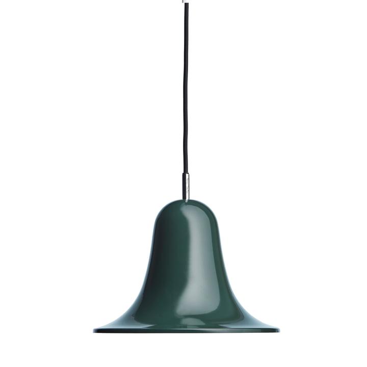The Pantop pendant light from Verpan in dark green