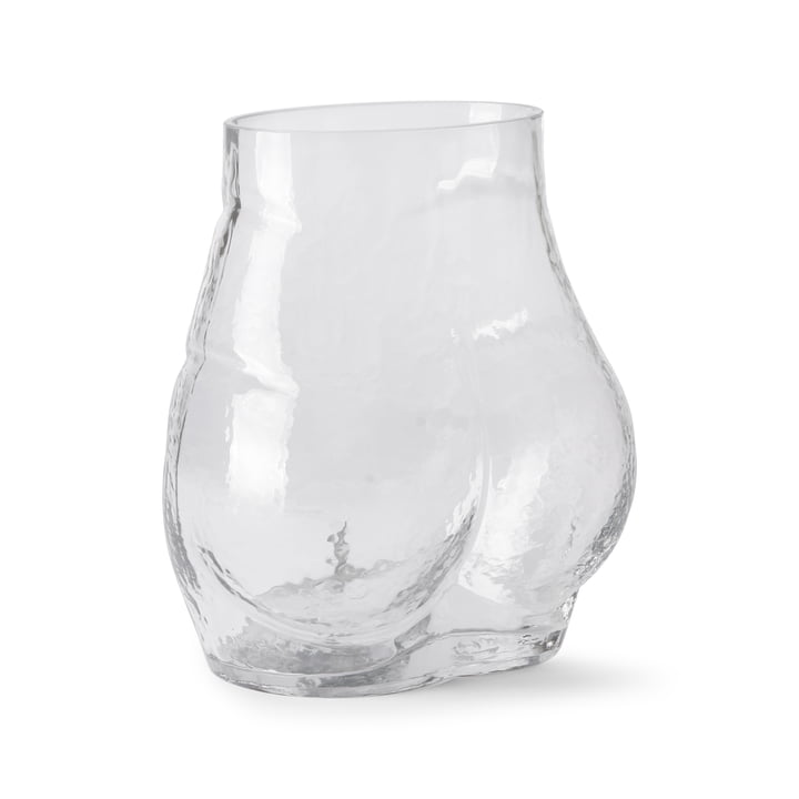Bum Vase, clear from HKliving