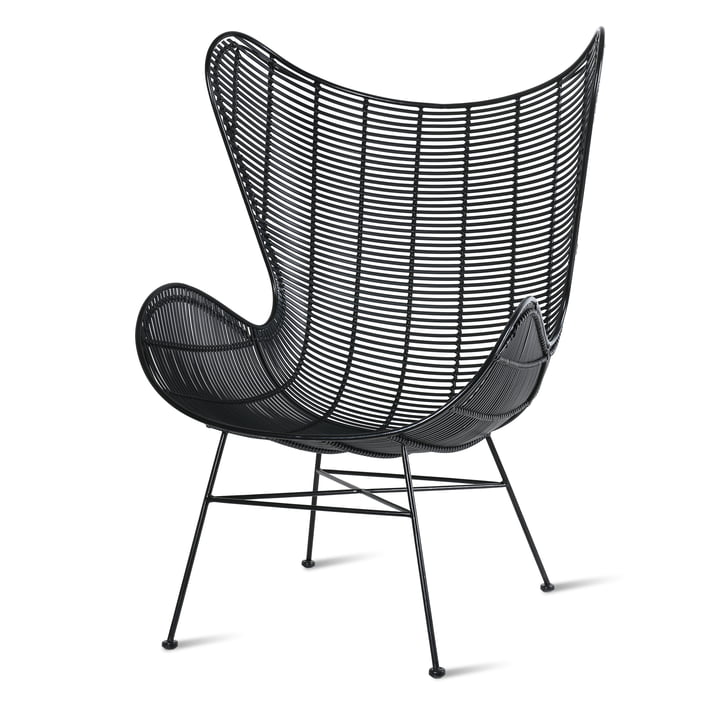 Egg Chair Outdoor, black from HKliving