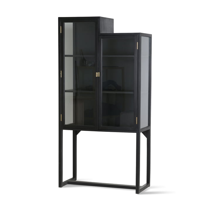 Stairs Showcase cabinet, black from HKliving