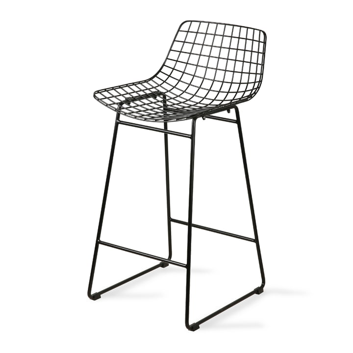 Wire Bar chair, black by HKliving
