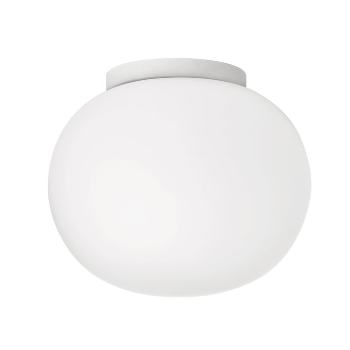 Mini Glo-Ball wall and ceiling lamp Ø 11.2 cm by Flos in white