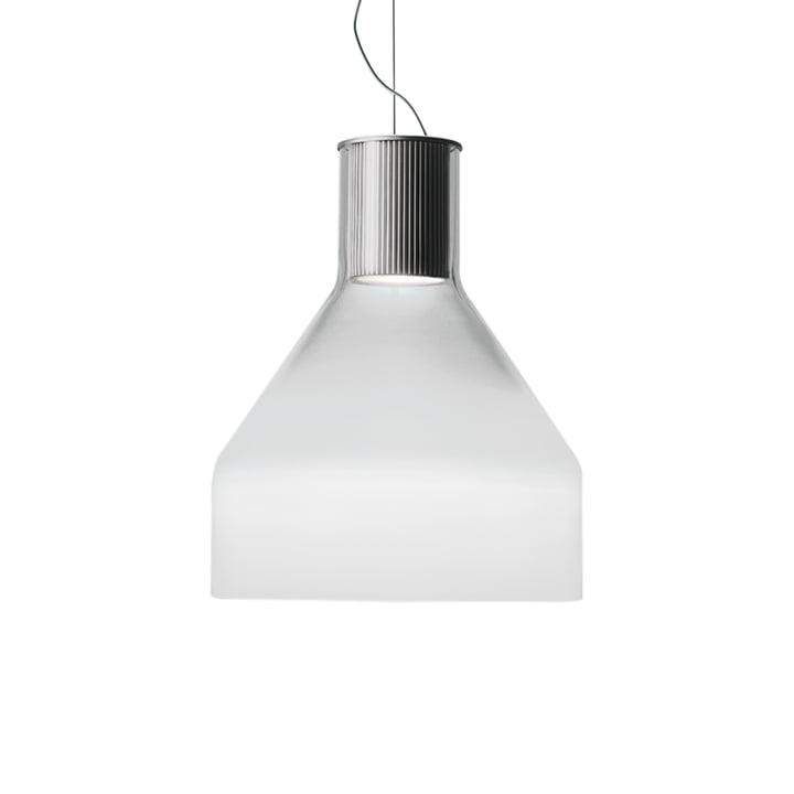 The Caiigo Pendant Lamp by Foscarini in shaded white